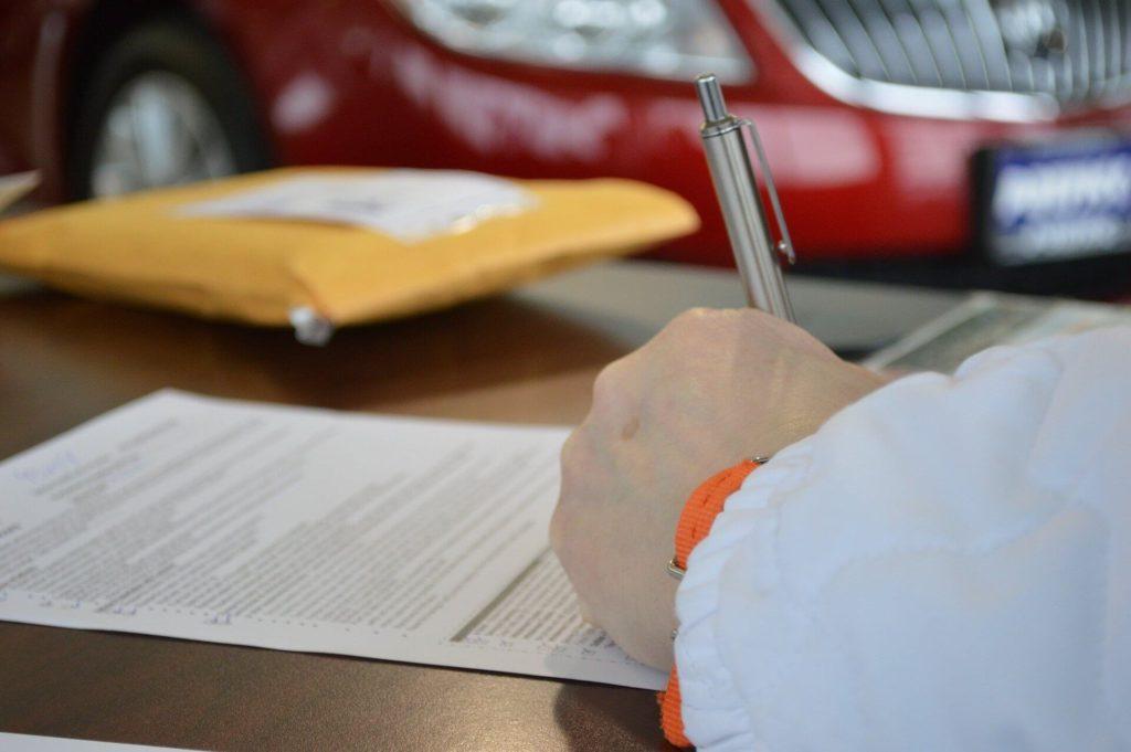 Доверенность на заключение договора от имени юр. лица