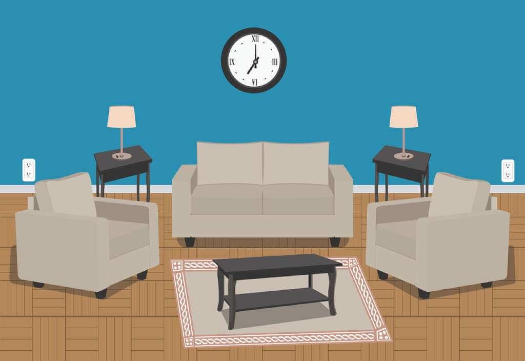 На фото изображена мебель в доме.